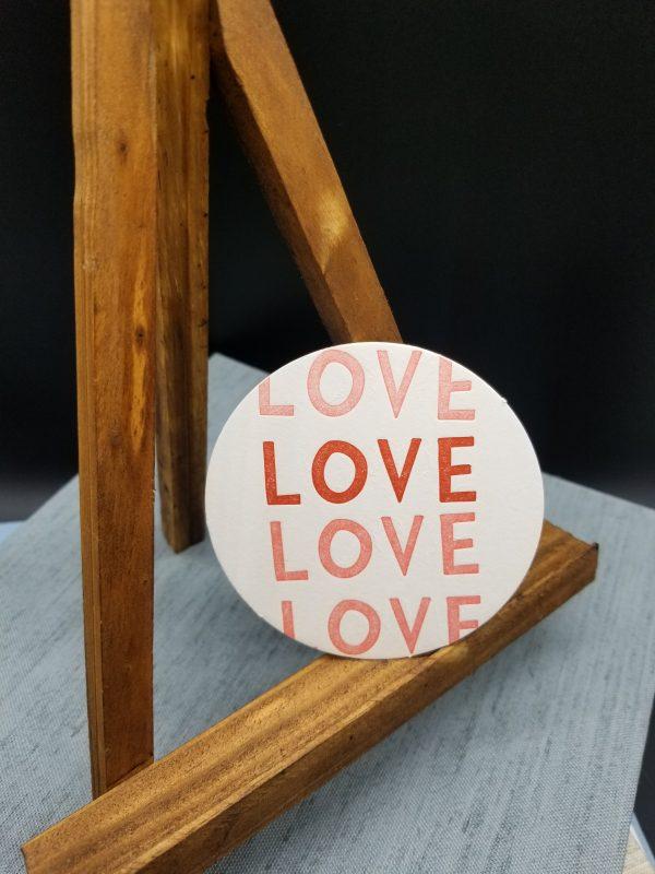 single love coaster
