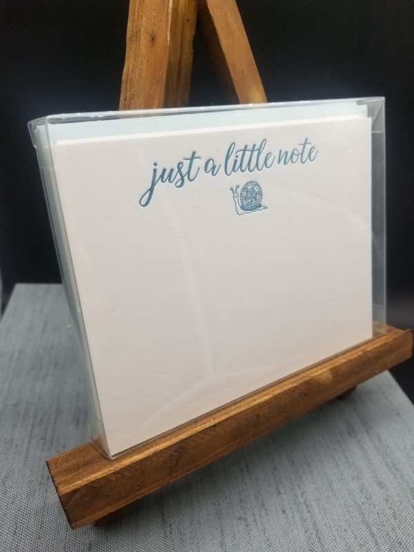 Just a little note notecard set
