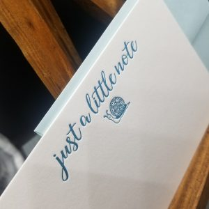 Just a little note notecard set