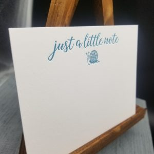 Just a Note Notecard Set