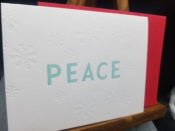 Peace A2 folding cards