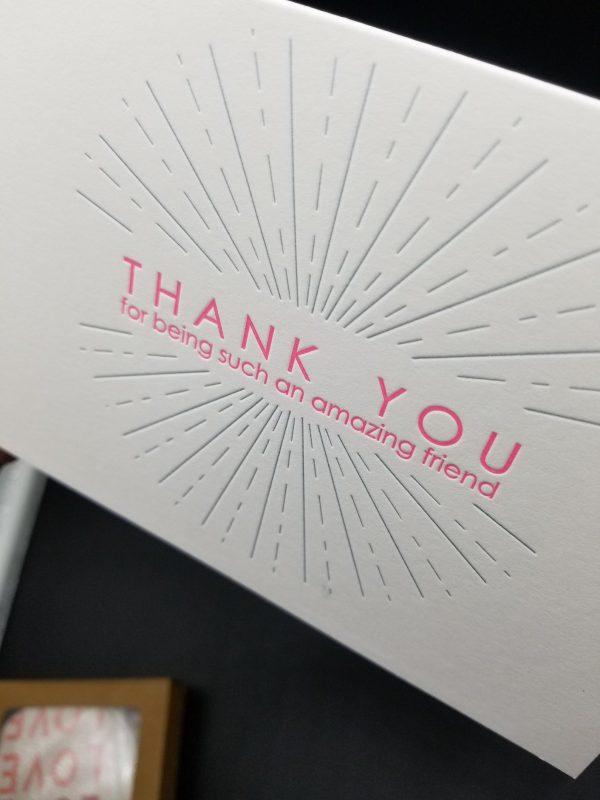Amazing Friend greeting card