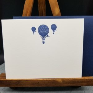 Hot Air Balloon Notecard Set