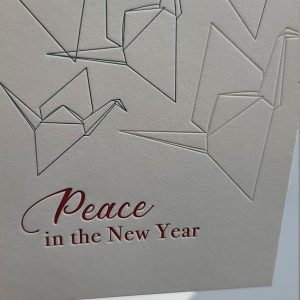Peace in the New Year  Cards