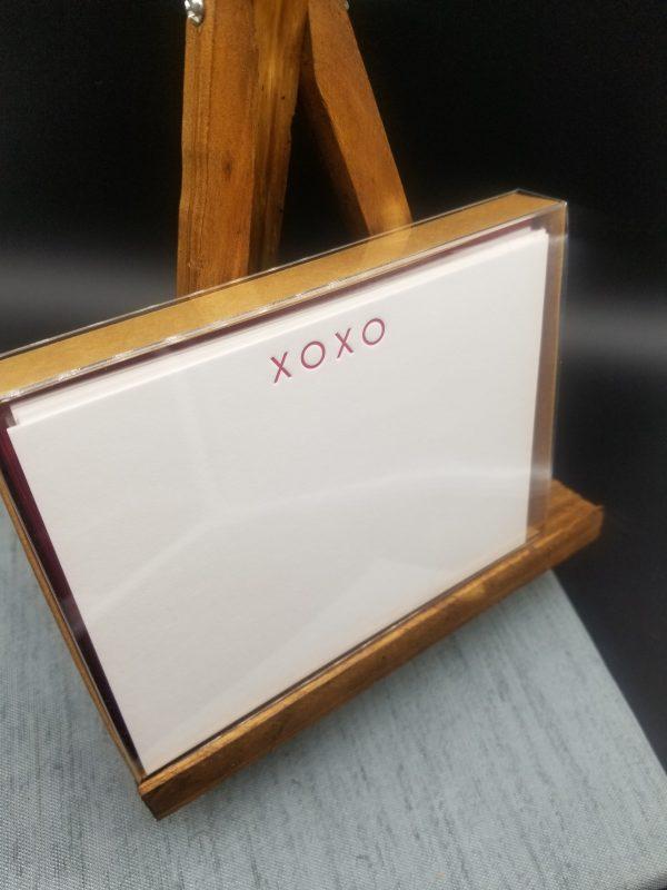 XOXO notecard set
